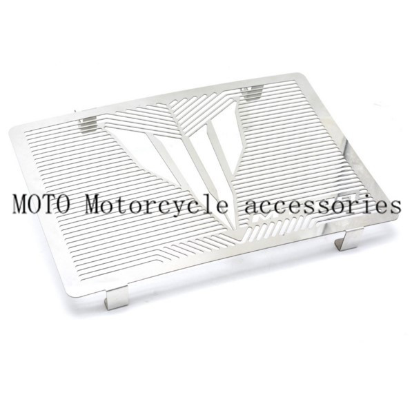 Stainless Steel Motorcycle scooter Radiator Grille Cover radiator guard protector grille cover for yamha MT-09 mt09 2014-2016<br>