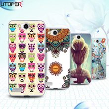 Personalized Case For ZTE Blade GF3 T320/Q Pro Cover Marble Stone DIY Pattern Custom Name Logo Design Stars Camo Phone Cases