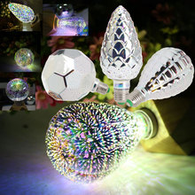 Buy Silver Plated Glass E27 3D Decoration Bulb 4W 110V 220V LED Light Holiday Lights ST64 G95 A60 G80 G125 Novelty Christmas Lamp for $6.89 in AliExpress store
