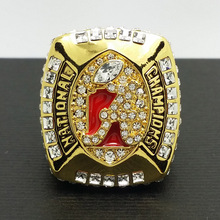 Solid Back 2011 Alabama Crimson Tide Saban SEC NCAA Football National Championship ring size 11 Gift
