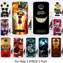 Plastic Case For Motorola Moto Z Force Droid Edition Verizon Vector maxx Z Play Droid 2016 Vertex Moto X 4 XT 1635-03 XT1635 Mo
