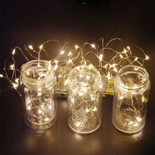 1X 2M 5M 10M 3XAA Battery LED String Lights for Xmas Garland Party Wedding Decoration Christmas Flasher Fairy Lights(China)