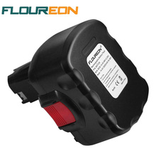 For Bosch Power Tools Battery FLOUREON 14.4V 3000mAh Ni-MH Replacement Rechargeable Battery for BOSCH BAT038 3454 3454-01 3454SB