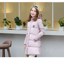 Cheap wholesale 2017 new Autumn Winter Hot sale women's fashion casual down cotton 6 colors plus size hooded nice warm Jacket