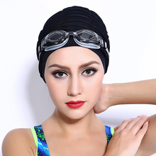 2017 New Swimming Cap Women Swimwear Caps Upscale Nylon High Quality Cheap Waterproof Adult Swimming Cap for Women(China)