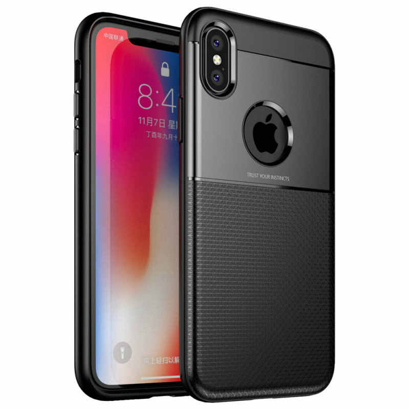 High Quality For iPhone X 8 Plus 7 Plus 6S Plus Armour Anti-Shock TPU+PC Phone Case For iPhone XS Max XR