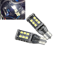 Xenon White 6000K 800 lumens Extremely Bright Error Free 921 912 W16W PX Chipsets LED Bulbs For Backup Reverse Lights BEST VALUE