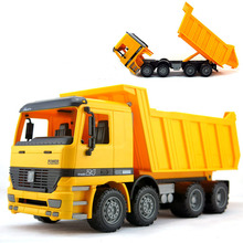 BOHS Jumbo Sandbox Vehicle Dump Truck , Freight Car Transport Sand Children's Beach Toys(China)