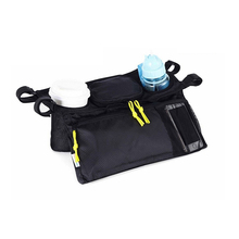 New Arrival Cup Bag Stroller Organizer Baby Carriage Pram Buggy Cart Bottle Bag Car Bag Stroller Accessories(China)