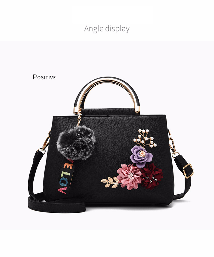 ETALOO Flowers Shell Ladies Handbags | Tote Leather Bag 7