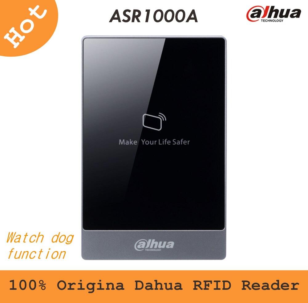 100% Original Dahua RFID Reader ASR1000A 13.56MHz Read Range 6-8cm 8 bit for card access control system<br>