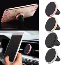 Car-Styling Universal Mini Car Mobile Phone Magnetic Cradle Mount Holder GPS NAV iPod Hot
