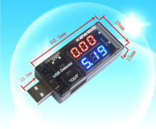 USB Charger Mobile Power Current Voltage Charging Detector battery Tester Volt Meter Ammeter