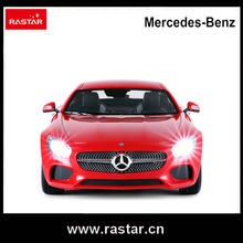 Rastar Licensed 1:14 Mercedes AMG GT RC Toys & Hobbies rc car with high speed for collection entertainment 74000(China)