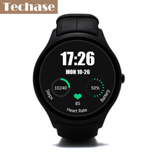 Techase New Smart Watch GPS Tracker Smartwatch Android OS Men Watches Heart Rate Monitor 3G SIM WiFi Support Google APP Download