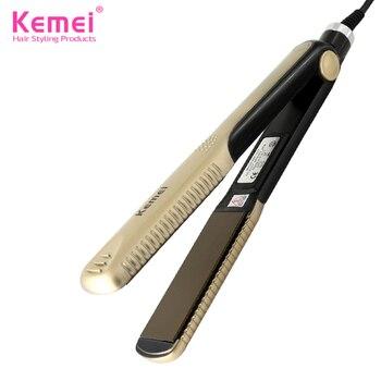 Kemei327 Новые выпрямители для волос Профессиональные Парикмахерские Портативный Керамический Выпрямитель Для Волос Утюги Для Укладки Инструменты Бесплатная Доставка