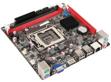 Used,for Colorful C.H61HD V20 1155 mini mini Industrial motherboards all solid 17X17 HDMI