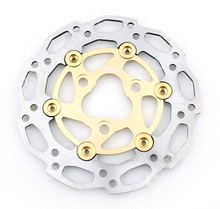 Motorbike Brake Disc Rotor For Yamaha JOG 50 90 RS100 50/90/100 1PCS Gold Stainless Steel High Quality Motorcycle Covers Styling