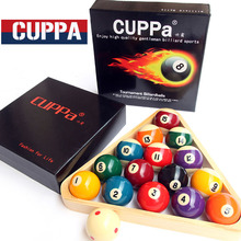Cuppa Pool Table Billiard Ball Set 52mm/57mm Billiards Accessories China 2016(China)