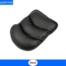 Car Auto Armrests Cover Vehicle Center Console Arm Rest Seat Box Pad Protective Case Soft PU Mats Cushion Car Styling