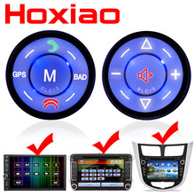 Car Steering Wheel Control DVD Navigation Button Universal wireless Car android GPS navigation universal remote control buttons