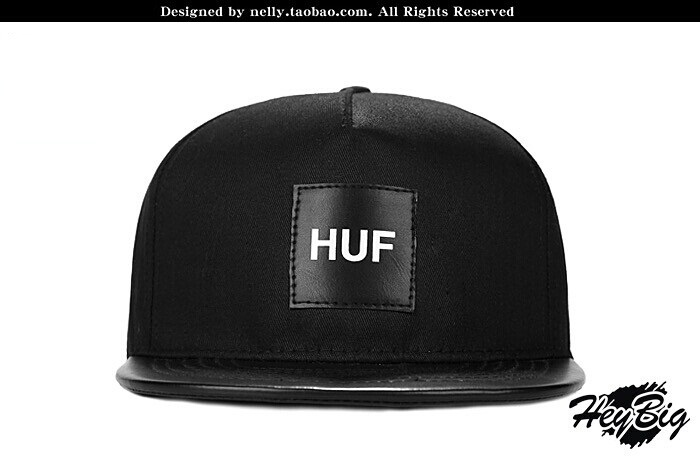 HU SNAPBACK Amoeba PU leather hat baseball cap hat<br><br>Aliexpress