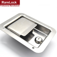 Rarelock Bus Truck Lock Stainless Steel Pickup Accessories Bus,Truck Door Handle Lock 140mm*108mm Cerradura e