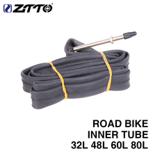 ZTTO Road Racing Bike Tires 700c F/V Bike Inner Tube Tires For 18/23C 32L 48L 60L 80L Bicycle Parts(China)
