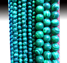 Pick size Factory Price 4/6/8/10/12MM Dark Green Handmade Round Natural Stone Beads Fashion Jewelry Free Shipping