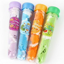 Good Quality Vogue 1pcs Portable Tube Soap Petals For Travel Scented Soap Bath Flakes Child Hand Washing Soaps(China)