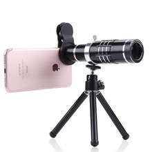 Buy Universal 18X Zoom Mobile Phone Lens Telephoto Camera Lenses Mini Tripod Telescope iPhone 7 Samsung Huawei Xiaomi HTC for $24.62 in AliExpress store