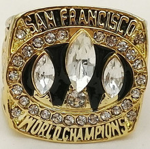 Special Price For New Fashion Classic Replica Super Bowl 1988 San Francisco 49ers Championship Ring for Fans(China)