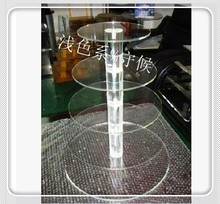 Cake Display Stand Plexiglass display holder free shopping Good Quality 5 Tier Acrylic Wedding Cake Stands Display decoration