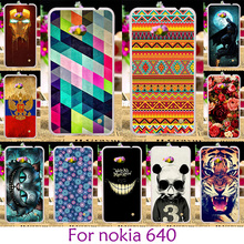 AKABEILA Soft TPU Plastic Case For Microsoft Nokia Lumia 640 N640 n 640 5.0 inch MICROSOFT 640 Case Cover housing Phone Skin(China)