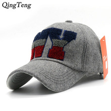High Quality 2017 New Woolen Ny Cap Letter NEW YORK Gorras Hip Hop Men Women NY Baseball Cap Casual Adjustable Polo Hats(China)