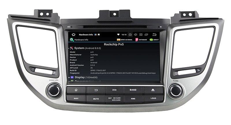 hyundai tucson ix35 stereo upgrade android 8.0 head unit navigation 2