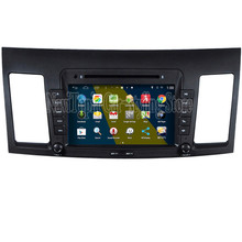 NaviTopia Brand New Hot 1024*600 Quad Core 16G 8'' Pure Android 4.4.4 Car PC for MITSUBISHI Lancer Car DVD Multimedia Player(China)