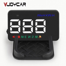 VJOYCAR A5 China Best GPS Hud Head Up Display Car GPS Speedometer Projector Odometer Compass Over Speed Alarm With Adaptor(China)