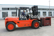 10 tons Big Capacity Big Diesel Powered Forklift Machine