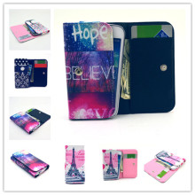 For Nokia Lumia 800 N800 Case Painting Universal Purse Cover for Nokia N800 Wallet Flip Leather Case Phone Bag