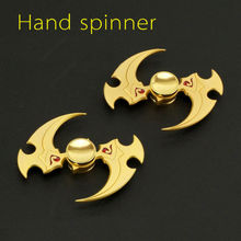 Hand Spinner Finger Fidget Metal Gyro Kids Adult Focus Desk Toys Novelty Finger Toys Hand Gift
