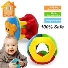 Buy MiniTudou Colorful Plastic Children Baby Toys Learning Hand Bell Ring Rattle Toy Baby Rattles Musical Toys Early Development for $4.82 in AliExpress store