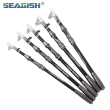 Seagish Sea Rod Outdoor Los Angeles Fishing Boat Long Section Pole Ultra Light Carbon Fiber Sea Rod FD0763