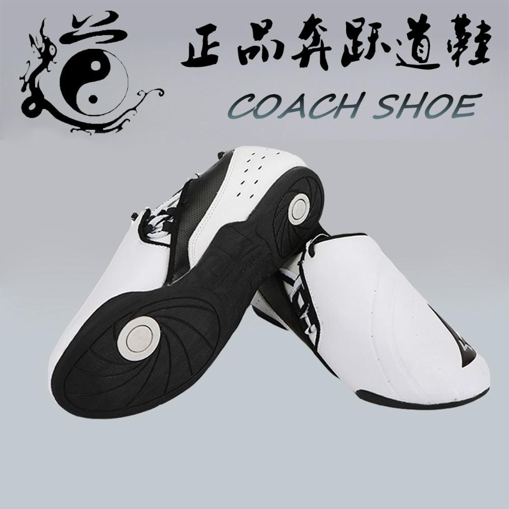 breathable soft rubber soles taekwondo shoes International Taekwondo Association designated shoes taekwondo instructor shoes<br>