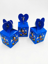 6PCS/SET MICKEY MOUSE THEME CANDY BOX GIFT BOX KIDS FAVOR BIRTHDAY PARTY SUPPLIES MICKEY MOUSE KIDS FAVOR BOXES
