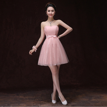 cheap beautiful formal sweetheart homecoming dress short pink puffy styles 2017 ball gown for sweet 16 party dresses teen H3382