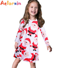 Vestidos Christmas Girls Dress Kids Costume Girls Clothes Children Little Girls Party Princess Dresses Costume Halloween Enfant(China)
