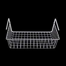 1 pcs New Kitchen Under Shelf Storage Basket Lightweight Metal Organiser Rack Drop Shipping(China)