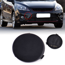 DWCX New Black Front Bumper Tow Hook Cover Cap 8M51-17A989-AB 8M5117A989AB fit for Ford Focus 2009 2010 2011 Wholesale Price(China)