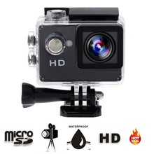 "Mini Action Camera Be Unique For Extreme Sport  2.0"" 720P HD Sports DV A7 30meter Waterproof Cheap Price Portable Action Camera"